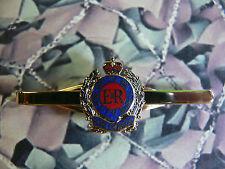Royal Engineers Queens Crown Tie Clip / Bar / Slide RE