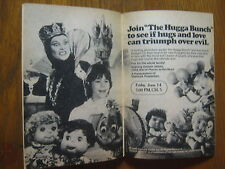1985 TV Guide(THE HUGGA  BUNCH/THE GOONIES/SIMON & SIMON/JOAN RIVERS/TINA TURNER