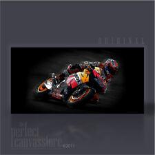 Casey Stoner gigante Repsol Honda MotoGP Campeón icónica Lona Arte-Arte Williams