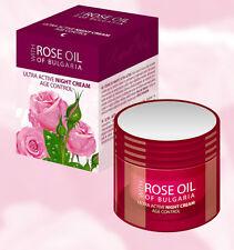 ROSE OIL OF BULGARIA Ultra Active Night Cream AGE CONTROL - 50ml