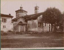 PALLANZA (Lago Maggiore). Foto originale fine 1800