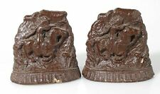 INDIAN CHIEF ON HORSE, SET OF 2, BOOKENDS