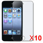 10X Clear Reusable Screen Protector for iPod Touch 4th Gen. 8GB, 32GB, 64GB