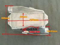 """Aria acqua alluminio liquido Intercooler Chargecooler 3"""" Inlet/Oulet 180 Degree"""