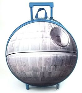 Disney Store Death Star Rolling Luggage Star Wars Carry On Suitcase