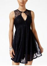 Free People Don't You Dare Lace-Trim Mini Dress. Size XS. $128.00