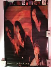 Alice In Chains On Target Vintage Poster