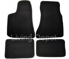 Fit For 05-10 Dodge Charger 4Dr Floor Mats Carpet Front & Rear Nylon Black 4PC