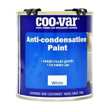 Coovar Anti-Condensation Paint Prevents Mould and Algae Build Up White