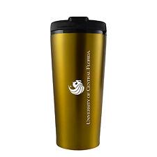 University of Central Florida -16 oz. Travel Mug Tumbler-Gold