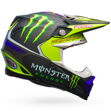 2017 Bell Flex LTD ED Monster Energy Pro Circuit XL Mx Helmet FREE Worldwide S&H