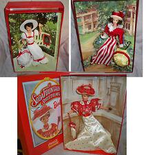 3 Coca Cola Collector Barbie Dolls NRFB Daydreams, Walk, Fountain Sweetheart
