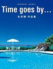 Art Works Collection Book Time Goes by Hiroshi Nagai 2017 Reissue From Japan