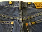 Vintage 80s Lee RIDERS 200 Suspender Button Indigo Denim Work Pants Jeans  29x31
