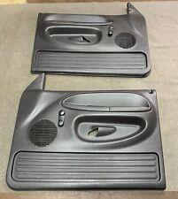 1994-1997 Dodge Ram 2500 MANUAL Door Panels OEM From A Regular Cab Agate
