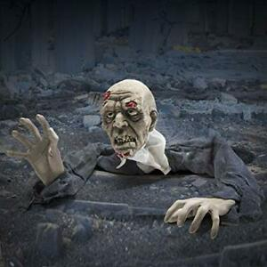 Halloween Decoration Grim Creepy Looking Zombie Garden Yard Monster Scary Party