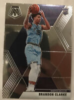2019-20 Panini Mosaic BRANDON CLARKE ROOKIE CARD RC #207