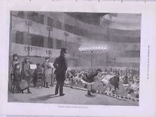 1881 PANTOMIME REHEARSALS PERFORMING ARTS STAGE
