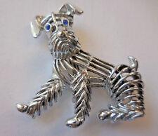 Vintage Gerrys Silver Dog Brooch Pin