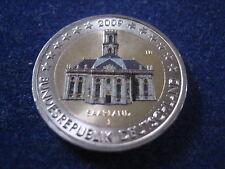 """MDS DEUTSCHLAND 2 EURO 2009 J """"SAARLAND"""", COLORIERT"""