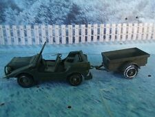 1/50 Solido (France) Military Jeep Mercedes #213