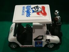 Newcastle Knights Custom Golf Cart Buggy 1:24 Clubs Ball Driver Iron Bag Putter
