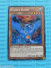 Bujingi Raven MP14-EN179 Rare Yu-Gi-Oh Card Mint 1st Edition New