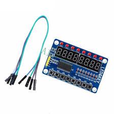 8-Bit Digital LED Tube 8-Bit TM1638 8 Keys Display Module For AVR Arduino ARM