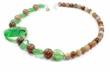 Ct 364 Moonstone Agate Stone Jewelry Necklace Lariat Gemstone Birthday Gifts