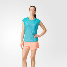 adidas Short Sleeve Tops for Women with Wicking