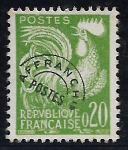 Timbre France Poste Pré-oblitérés  N°120