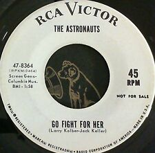 Surf Garage 45 Astronauts Go fight for her / Swim little mermaid RCA 8364 Promo