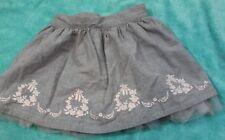 JANIE AND JACK size 6 girls BALLERINA skirt adjustable waist.