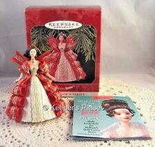 Hallmark Keepsake Holiday Barbie 5th In The Ornament Collector's Series 1997 New