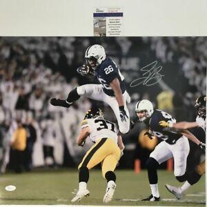 Autographed/Signed SAQUON BARKLEY Penn State Nittany Lions 16x20 Photo JSA COA 3