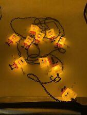 Spongebob Squarepants 13' String Light 10 Christmas Lights Bar Party Decor