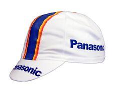 PANASONIC RETRO CYCLING BIKE CAP - Vintage - Fixed Gear - Made in Italy