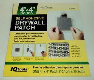 "iQTOOLS Adhésif DRYWALL PATCH 4 "" x Construction Grade Nip"