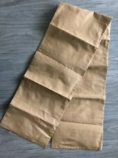 """Table Runner Gold 100% Polyester 13"""" by 71"""""""