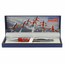 RAF  PEN  THE RED ARROWS PEN WITH TEAM CREST & GIFT BOX RAF 249