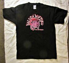 Halden Wooford & The Hi Beams Brand New Black Band T-Shirt Men'S Large Size