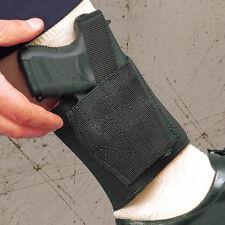 DeSantis Apache Ankle Holster – Left Hand, Black – Bodyguard 380