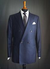 GEORGIO ARMANI Suit, Navy Wool, Size 44R (EU 54), Trousers W36 L35
