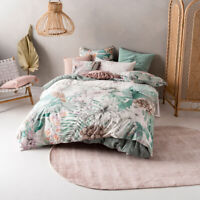 Linen House Lorena Quilt Cover Set | Queen King Super King Sizes NEW