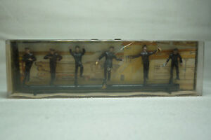 VINTAGE MERTEN FIGUREN BOX - SPUR H0 - LOKPERSONAL SET - BOX 2280 (1.FIG-19)