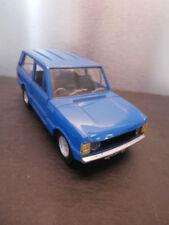 Voitures de rallye miniatures bleus 1:24