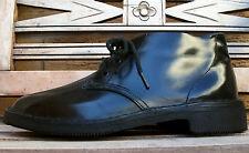 EZYWALKIN Clifton Shoe Co. black leather boots shoes 5½ (womens 7½-8) VINTAGE!
