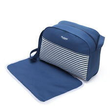 Mustela® Nappy Bag with Changing Mat Insulated Stain-proof Waterproof lining