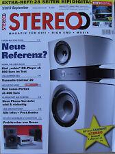 Stereo 9/17 Aurum C8, Cyrus CDi, AVM MP 8.2, Denon D-M41, NAD M 50.2, NAD C338