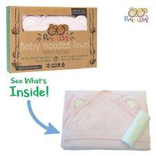Hooded Baby Towel and Washcloth Set 100%Organic Bamboo Bath